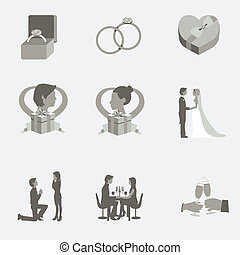 Wedding Flat Elements