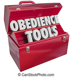 Obedience Tools Toolbox Resources Teaching Respect Authority...