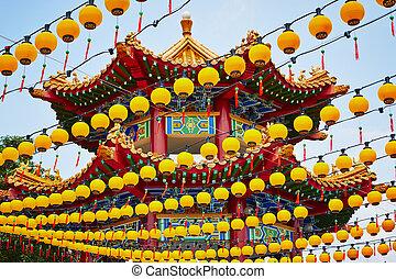 templo, chino