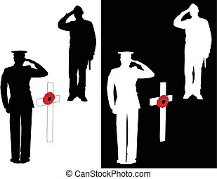 Lest we forget - For the men and women who lost their lives...