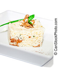 Boiled rice with mushroom - Boiled rice with chanterelle...