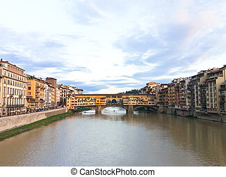 Ponte Vecchio in Florence,Italy