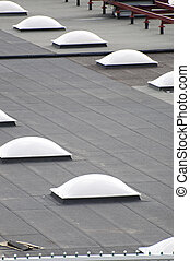 Roof skylight�s picture from Spain, Europe