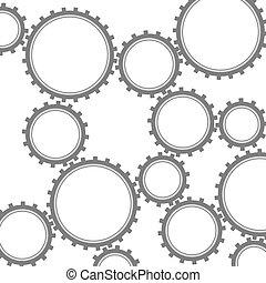 Gearwheel chain