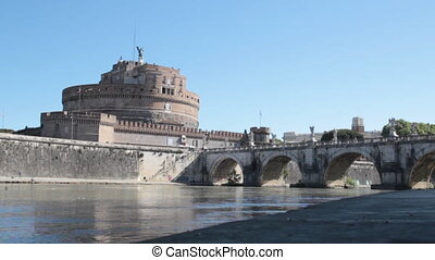 The Mausoleum of Hadrian - Castel Sant Angelo or Mausoleom...