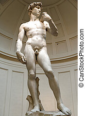 david di michelangelo a very important monument in firenze