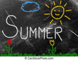 sumer background - summer background