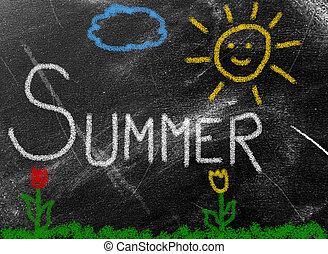 sumer background - summer background
