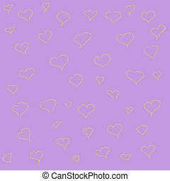 Hearts seamless pattern