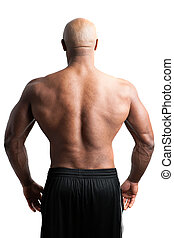 Man with a Muscular Back