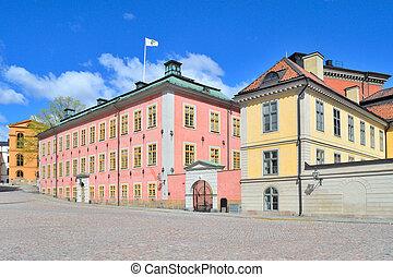 Stockholm, Riddarholmen - Stockholm, Sweden Architecture of...