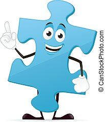 Puzzle Mascot