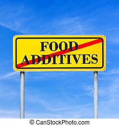 alimento, additives, prohibido