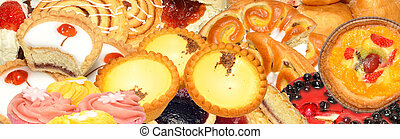 Cake And Pastry Assortment - Assortment of cake and pastry...