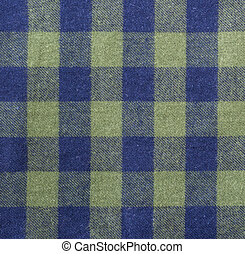 GREEN BLUE PLAID BACKGROUND