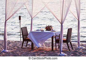 Place for romantic dinner