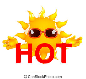 Hot Sun Clipart | www.pixshark.com - Images Galleries With ...