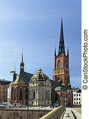 Riddarholm Church, Stockholm - The Riddarholm Church is the...