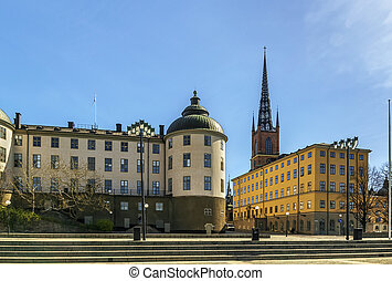 Riddarholmen, Stockholm - Riddarholmen is a small islet in...
