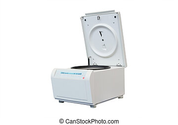 Sterilizer under the white background