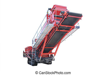 a machine for the mining industry