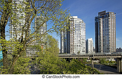 Vancouver, new residential area