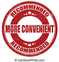 More convenient - Stamp with text more convenient inside,...