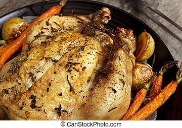 Roasted Chicken Dinner