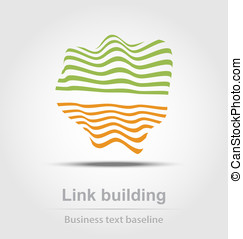 Link building business icon