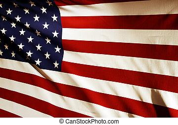 norteamericano, bandera