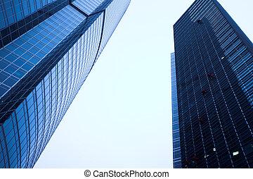 新, 摩天樓, 事務, 中心