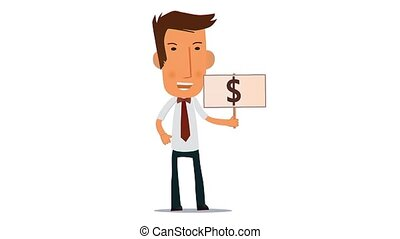 character want money for use in presentations, manuals,...