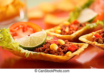 Tortillas - Delicious tex-mex tortillas with minced meat