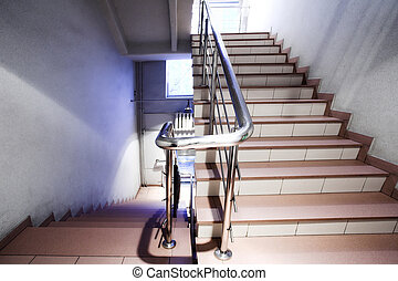 Stair in office