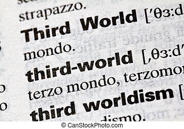 Third World, literal definition