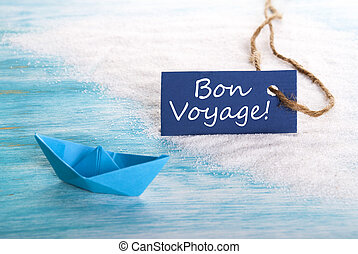 Blue Label with Bon Voyage - A Blue Label with Bon Voyage...