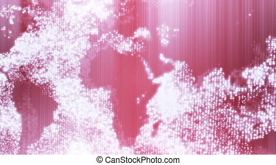 Animated earth map  background