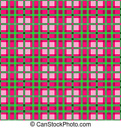 Plaid colorful seamless pattern Vector illustration