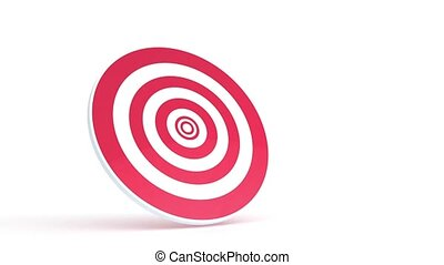 Target animation - 3D animation of a simple objects for use...