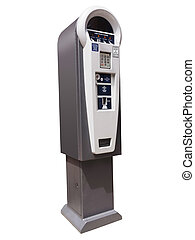 Parking meter machine - Parking meter ticket dispensing...