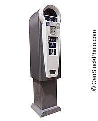 Parking meter machine - Parking meter ticket dispensing...