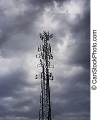 Cell tower antenna