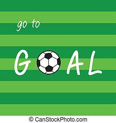 Goal football soccer