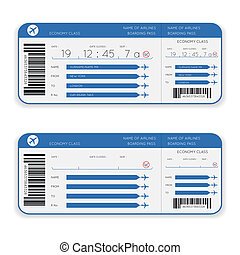 airline boarding pass ticket - vector airline boarding pass...