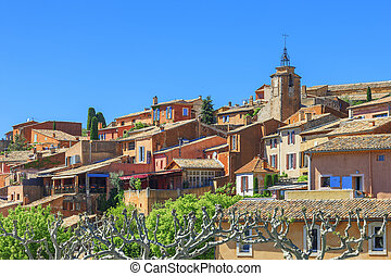 Roussillon village, Provence, France