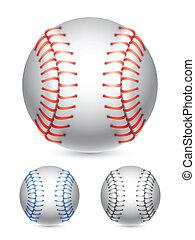 Baseball ball.