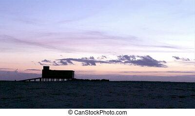 RiaFormosa-Fuseta Sunset 006 Timela - Sunset and historic...