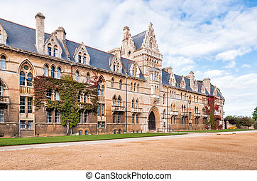 Christ Church Oxford University. The Meadow Building.