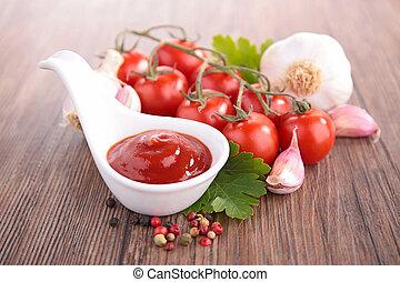 tomato sauce- ketchup