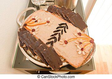 Mazurek - Polish Easter Cake A softer version of shortbread,...